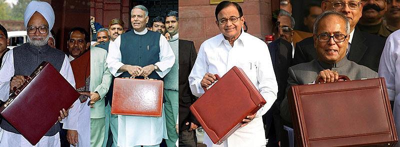 Индийские портфели из красной кожи - символ власти