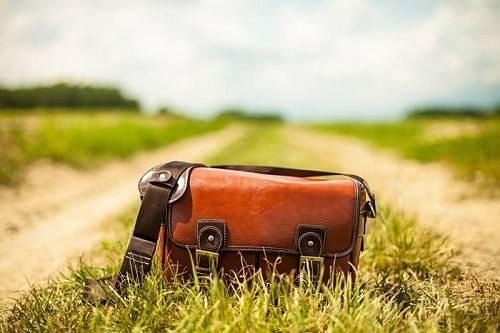 Мужские кожаные сумки через плечо