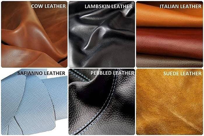 Какие есть виды кожи для сумок