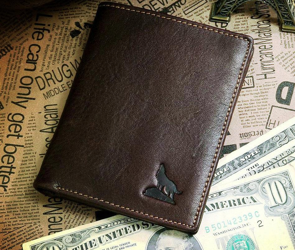 небольшое мужское портмоне из кожи john McDee
