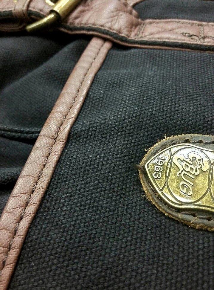 обработка краев рюкзака Bug. Пример качественной работы