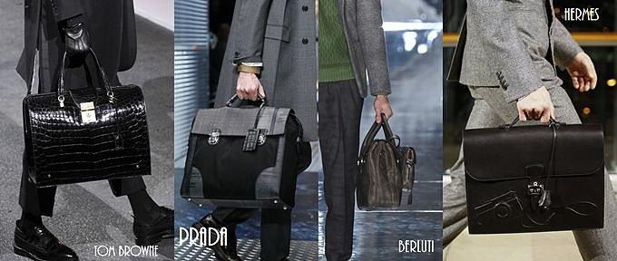 кожаные мужские портфели