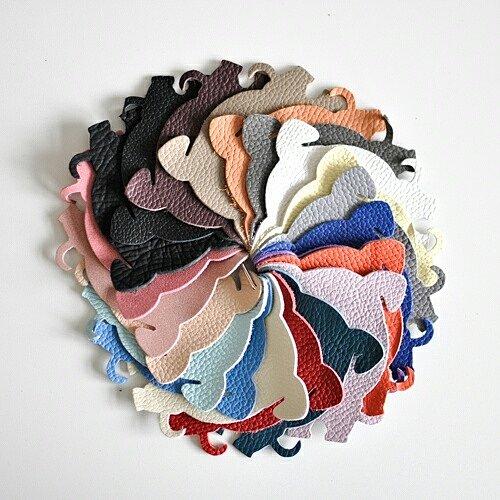 цветовая гамма кожи флотар, из которой можно заказать изделия в 7bags.com.ua