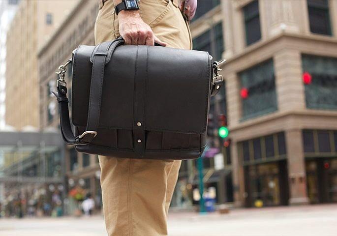 Категория мужских кожаных портфелей