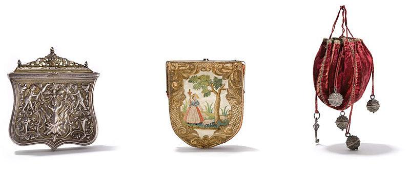 Первые кожаные сумки с карманами