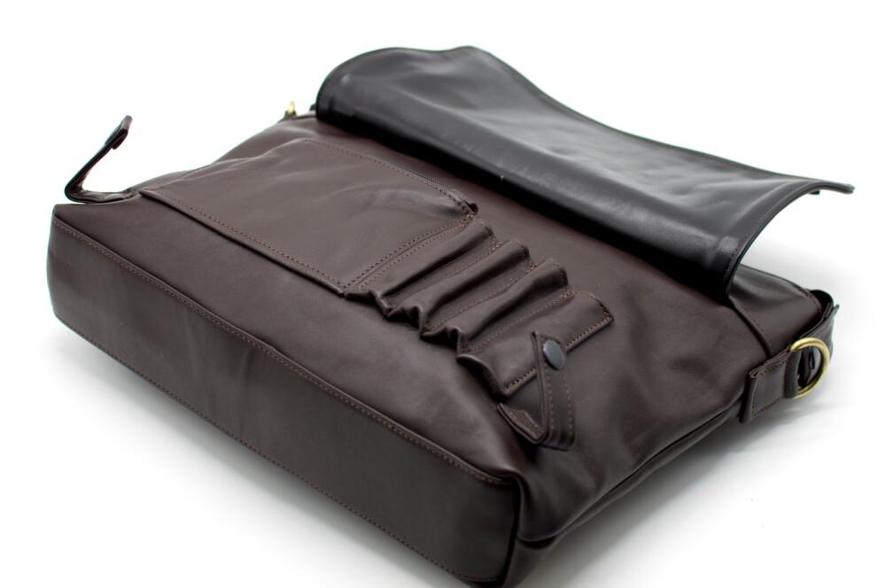 f2ed5fd0d1d7 Сумка кожаная для ноутбука, мужская сумка-портфель TARWA GC-7120-1md с