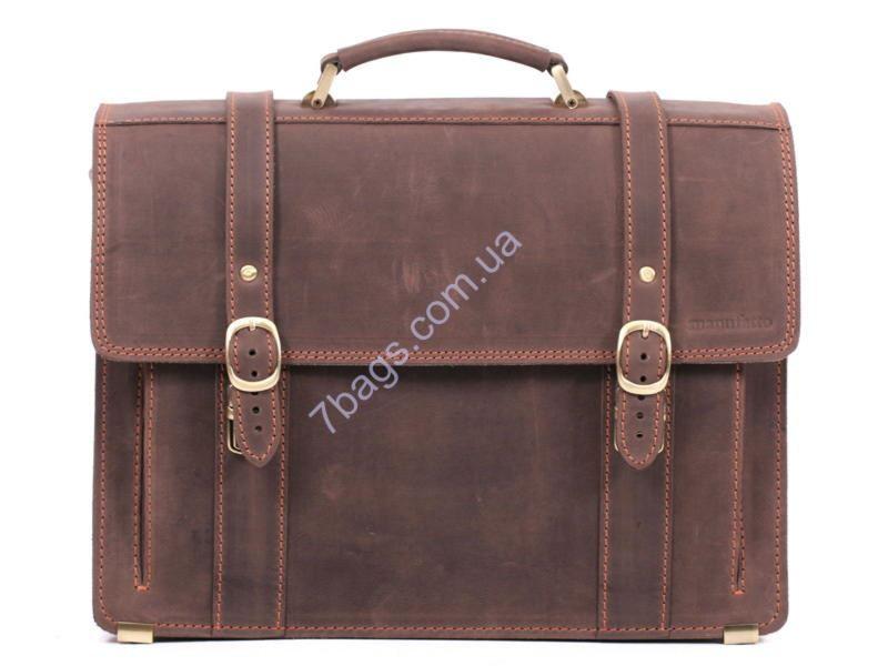 e9091b3f6840 Мужской портфель ручной работы из лошадиной кожи Crazy Horse ...