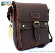 59454fa4f417 Кожаная сумка мессенджер Toro Leather ✓mtor-613 по цене 2 184,01 ...