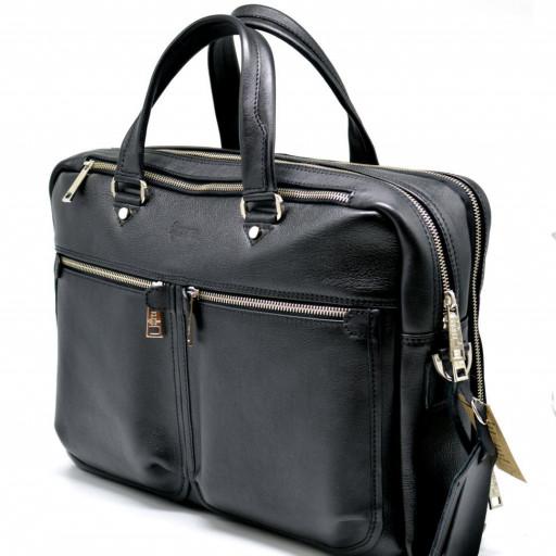 9b2c6cfae14d Мужская сумка для документов и ноутбука из натуральной кожи TARWA,  TA-4664-4lx