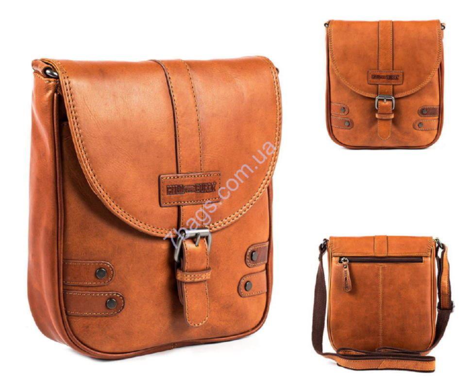 b28a592ab278 Крутая кожаная мужская сумка через плечо HILL BURRY 3100 ✓HB3100 по ...