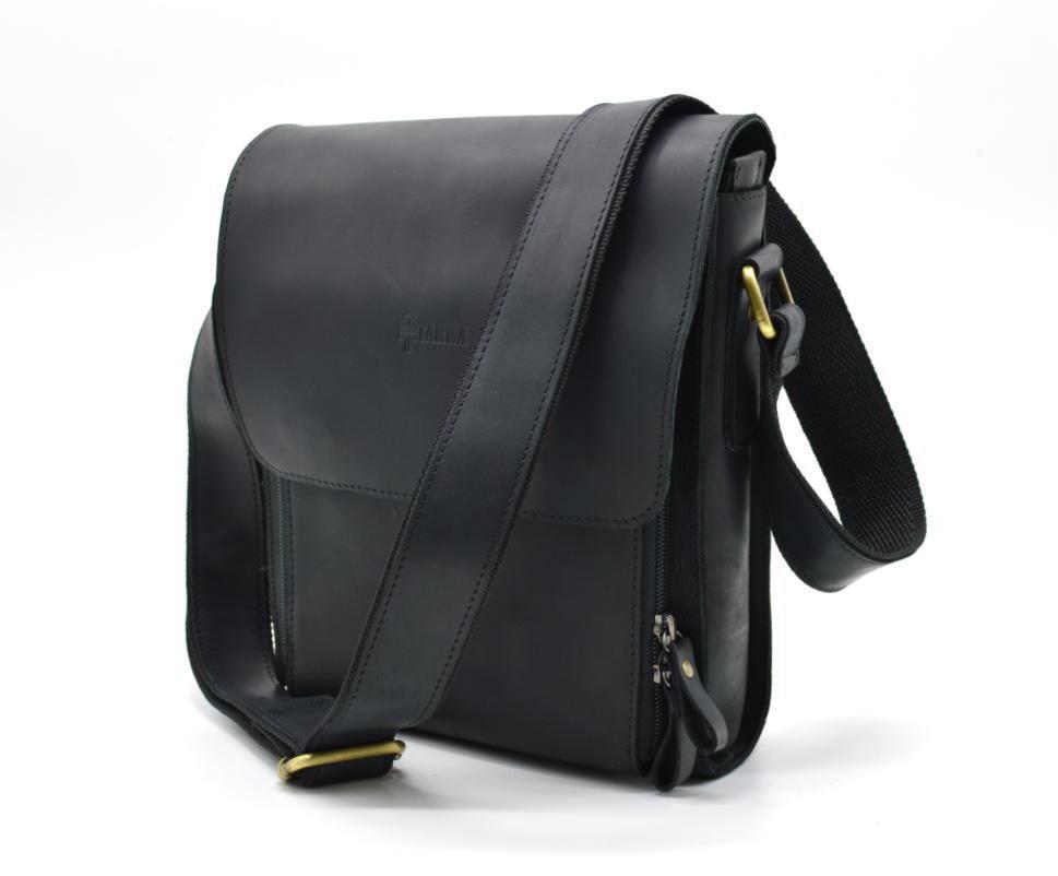 1c4e8613bdd1 Мужская сумка через плечо TARWA RA-3027-3md, из натуральной кожи crazy horse