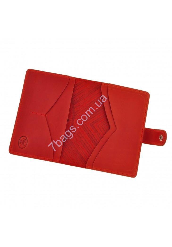 8d1fb64aa905 Обложка для паспорта из кожи 3.0 Инди Коралл ✓BN-OP-3-coral-ls по ...