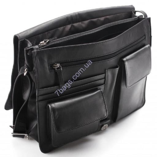 a5f84ae2a281 Брендовая модная сумка-мессенджер унисекс из натуральной кожи от Visconti в  трех цветах 753