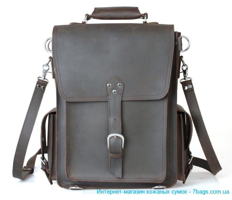Сумка-рюкзак мужской рюкзак деловой optima