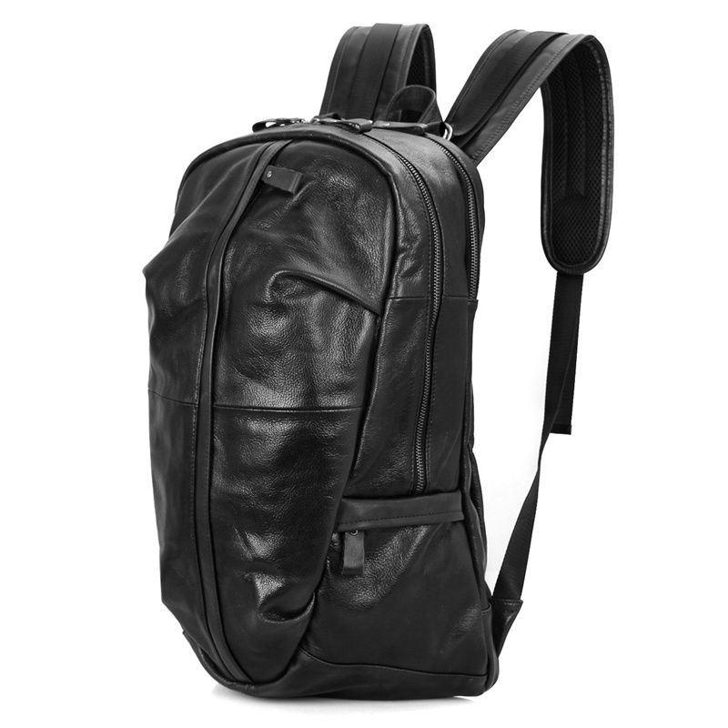 346eccea842a Мужской рюкзак из натуральной телячьей кожи John McDee 7340A ...