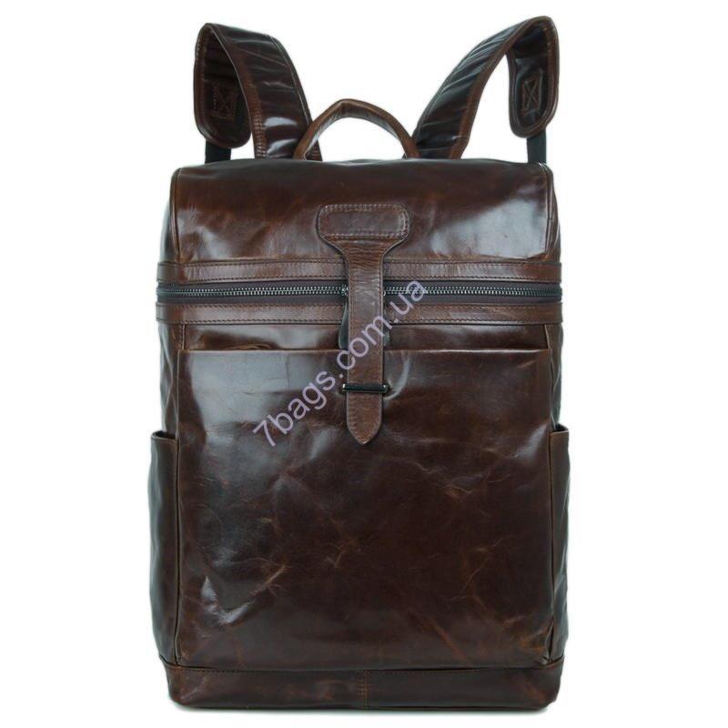 8b6b360c6e23 Мужской рюкзак из натуральной телячьей кожи John McDee 7342C ...