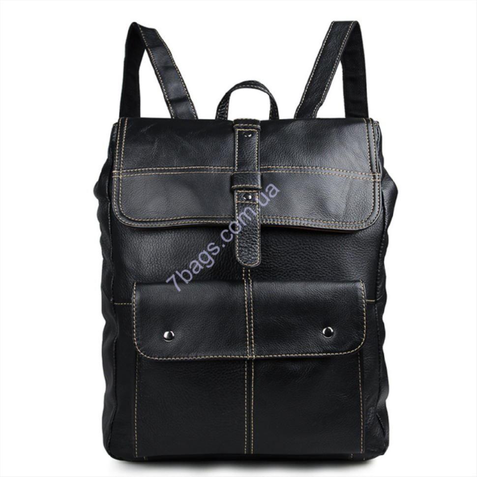 ed25c743081a Мужской рюкзак из натуральной телячьей кожи John McDee 7335A ...