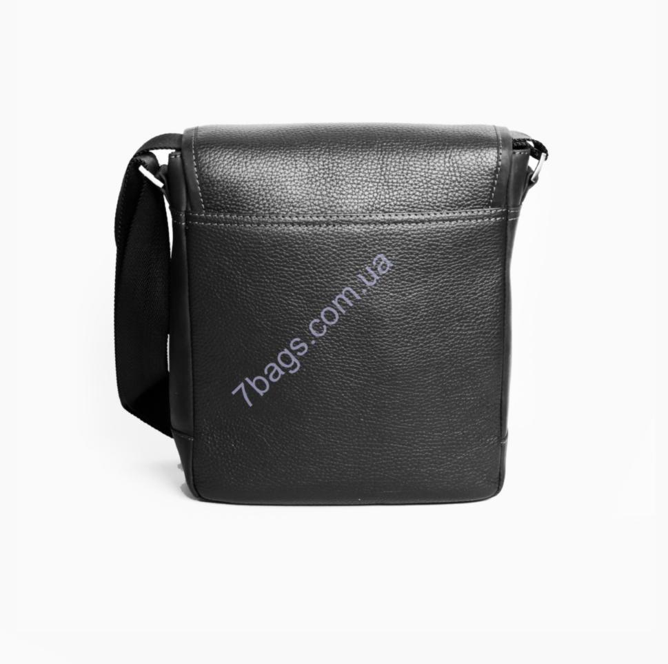a3ed62562947 Черная мужская сумка из натуральной кожи Issa Hara B5 (11-31) ✓B5 ...