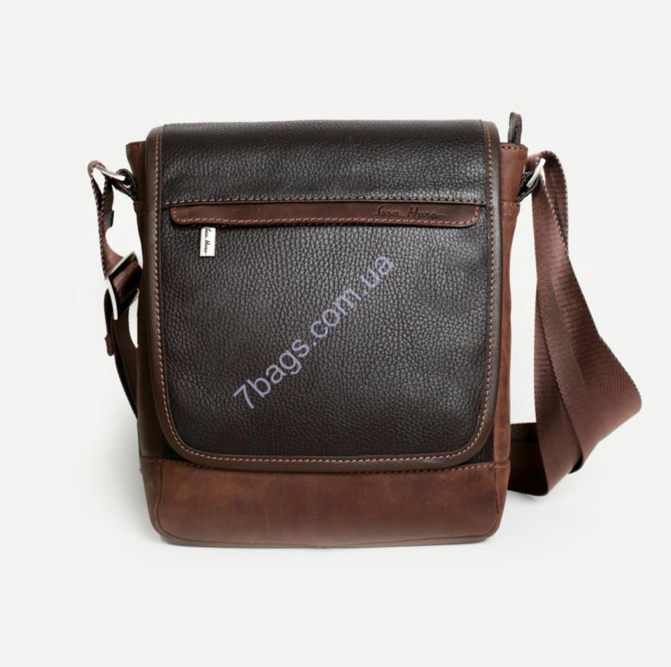 ab4c16d01e33 Коричневая мужская сумка из натуральной кожи ✓B5 (12-32) по цене 3 ...
