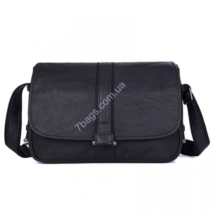 aa73ffb07d74 Модная кожаная сумка кросс-боди, черный цвет, John McDee, JD1030A ...