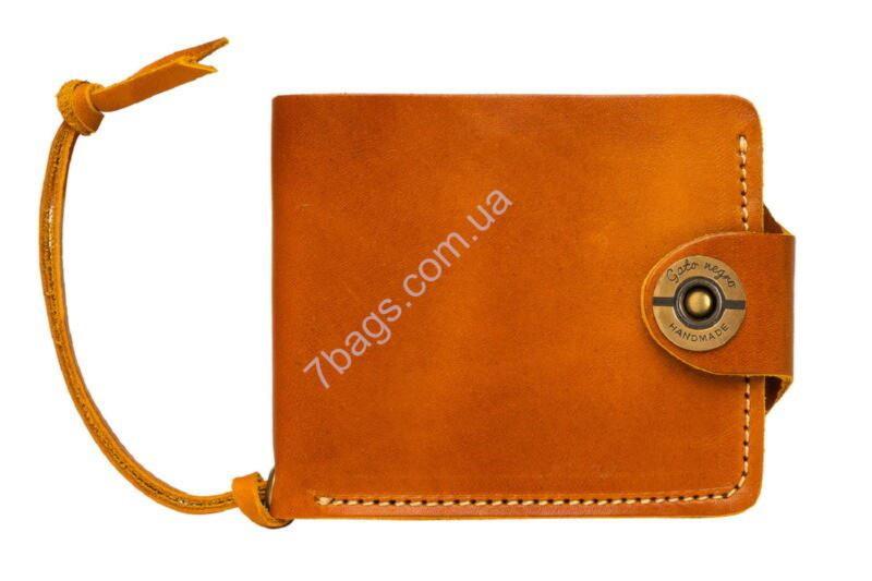 b54eb0e83788 Кошелек мужской кожаный Gato Negro GN108 в цвете Four Orange ✓GN108 ...