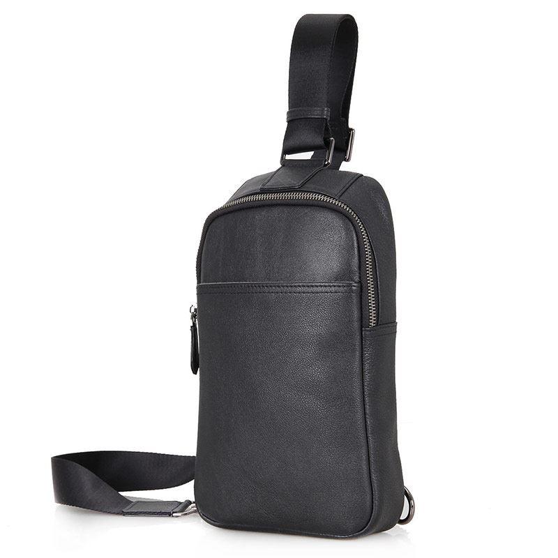 37331dc38555 Компактный кожаный рюкзак на одну шлейку JD4001A ✓JD4001A по цене 1 ...
