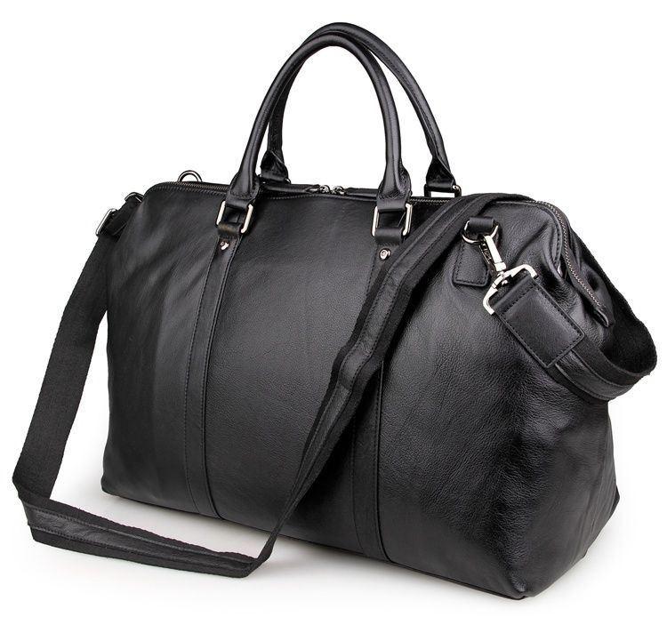12c59031d413 Мужская дорожная сумка из кожи John McDee 7322A ✓JD7322A по цене 3 ...