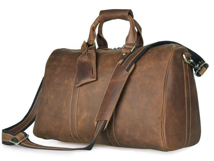 a173d579a972 Дорожная кожаная сумка John McDee 7077B ✓JD7077B по цене 4 399 грн ...