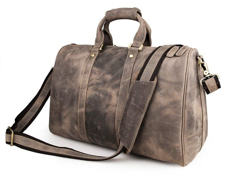 e072181385e4 Дорожная кожаная сумка John McDee 7077J ✓JD7077J по цене 4 399 грн ...