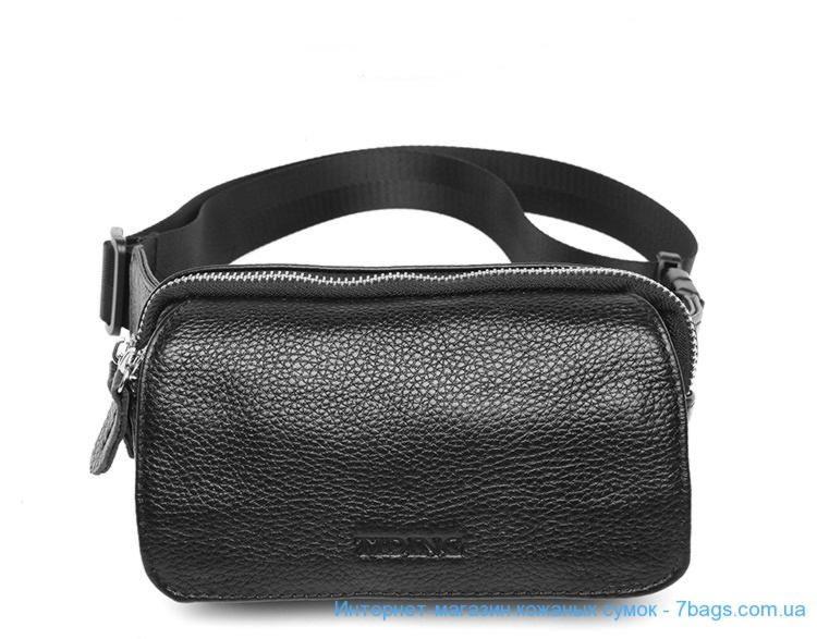c0e41439d0a2 Мужская кожаная сумка на пояс Tiding 3091 ✓tid3091bk по цене 1 908 ...