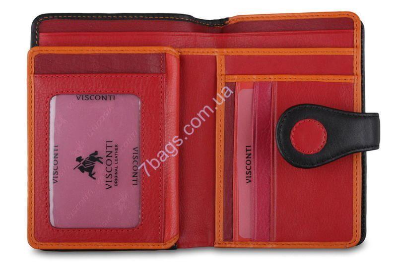 2ba33d9b93af Купить Кошелек в горошек кожаный женский Висконти в интернет-магазине 7  Сумок. Код товара: 516-279