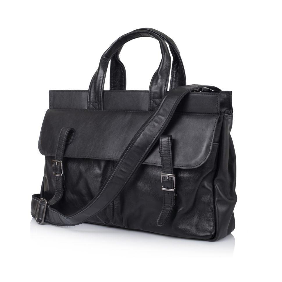 561ecbc6b7fe Мужская кожаная сумка с отделом для ноутбука GA-7107-1md TARWA ✓GA ...