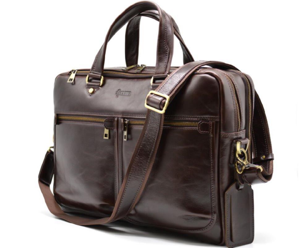 79a23f34c317 Мужская кожаная сумка для ноутбука и документов TX-4664-4lx TARWA ...