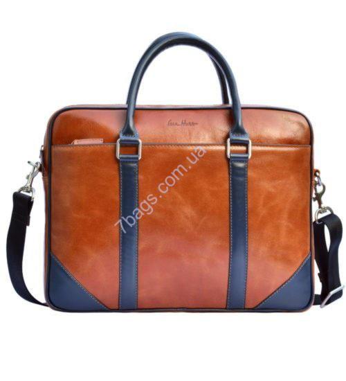 1b46e744adb3 Модная мужская сумка Issa Hara из натуральной гладкой кожи ✓В14 (04 ...