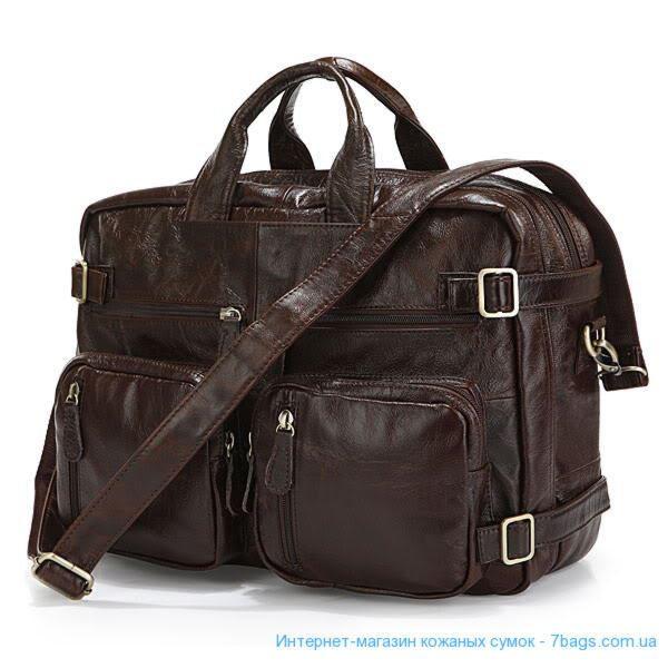def57c1acd01 Кожаная сумка трансформер, рюкзак, кросс ✓JD7061C по цене 3 400 грн ...