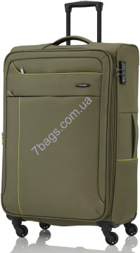 Travelite TL088149-86 SOLARIS/Olive Green Чемодан на 4 колесах L расш. (102/115л,3,6кг) (47x77x30/34см)