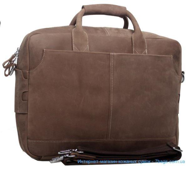 03706310d825 Мужская кожаная сумка-портфель из воловьей матовой кожи Tiding 1019 ...