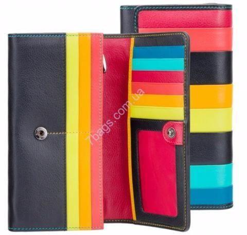 37e8eb178257 Многоцветный кожаный женский кошелек Висконти ✓STR4 по цене 2 290 ...