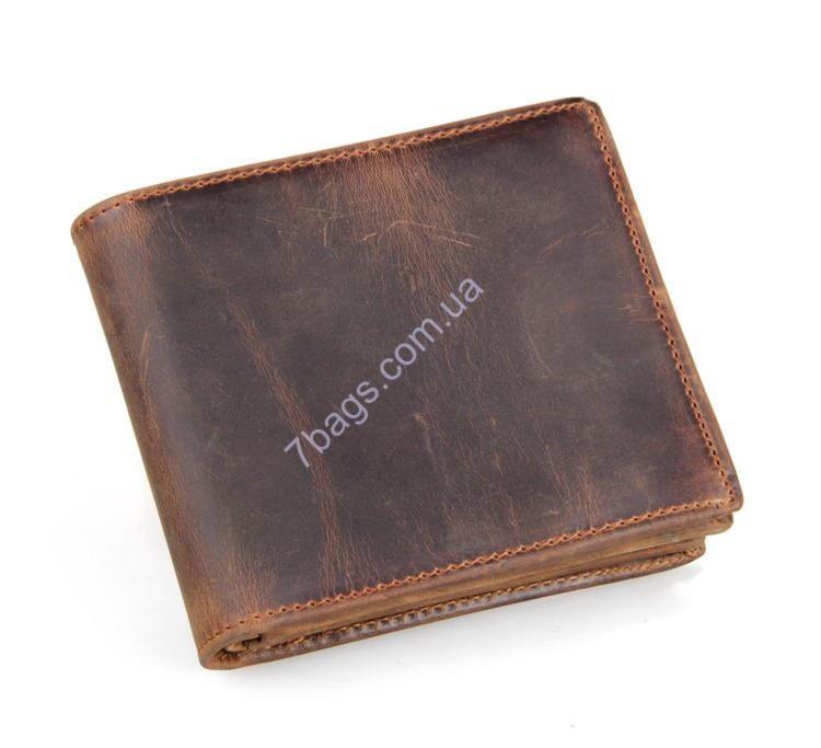 b79fcf5187e8 Кожаный кошелек для стильных мужчин John McDee JD_8056R ✓JD_8056R ...