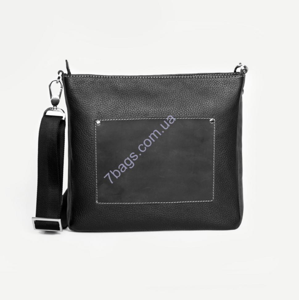 12775537c39f Мужская сумка - мессенджер Issa Hara из натуральной кожи В9-05 ✓ В9 ...