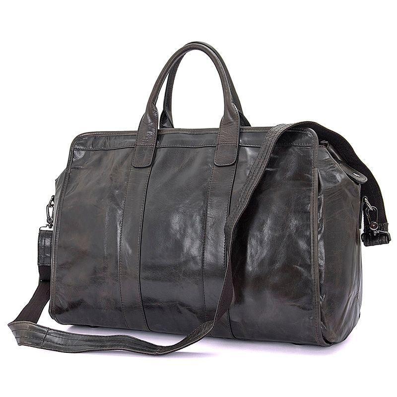 465504c16090 Кожаная дорожная сумка из натуральной кожи JD7324J John McDee ...