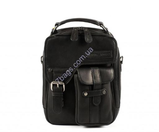 794efee3e876 Фирменная мужская сумка кросс-боди, цвет черный, Hill&Burry