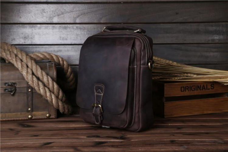 55b3c439e80f Мужская кожаная сумка через плечо, цвет коричневый, Bexhill bx035bl ...