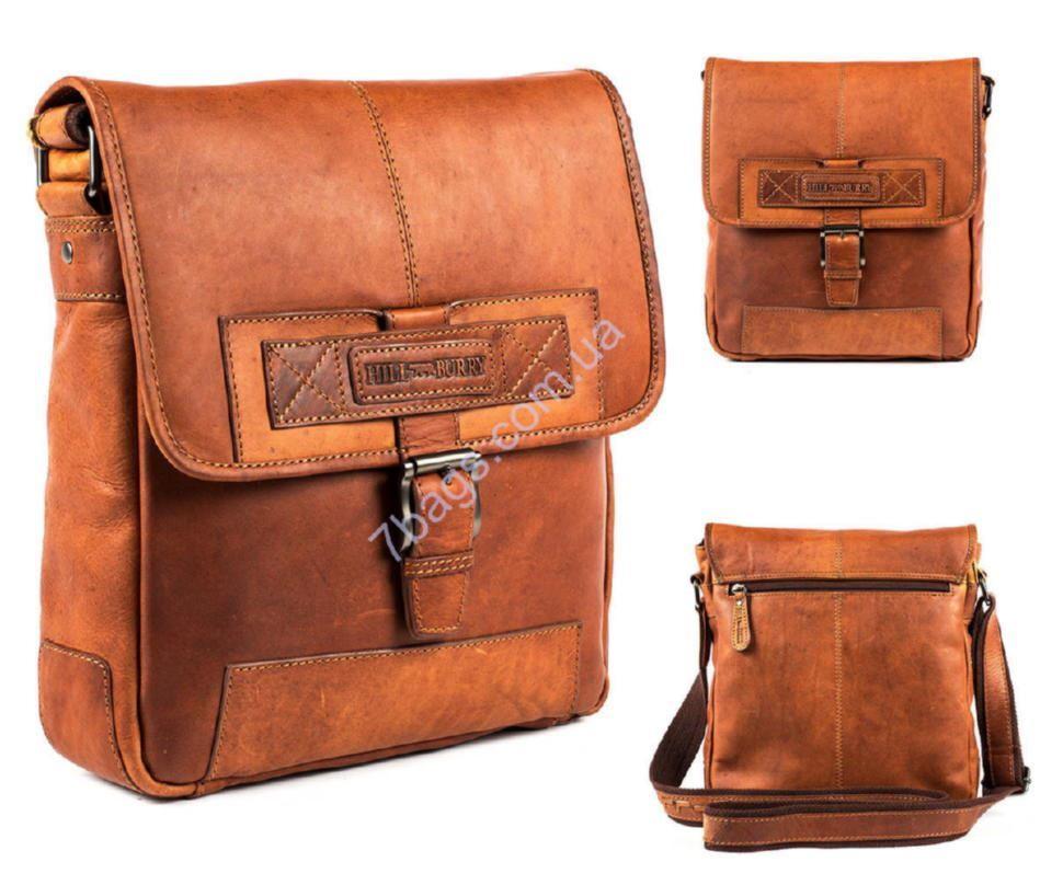 b955b794679c Великолепная мужская сумка, цвет рыжий, HILL BURRY ✓HB2089 по цене ...