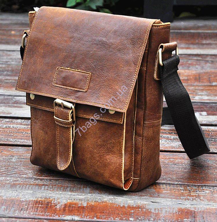 b0ad39592a84 Винтажная кожаная сумка мессенджер мужская ✓ON8571 по цене 1 670 ...