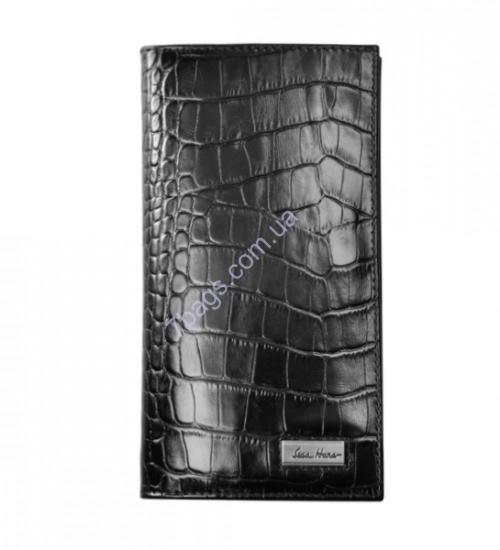 a4f63f1841800 Классическое портмоне Issa Hara с фактурой кожи крокодила WB20 ...