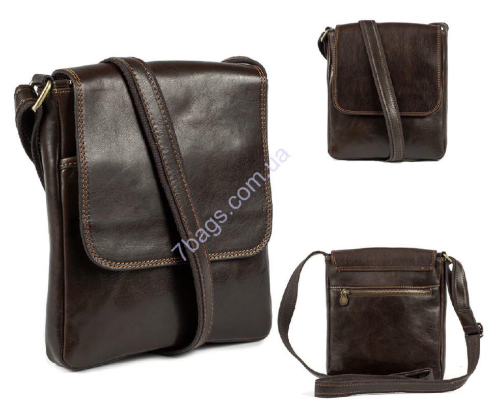82d8c7d3e951 Мужская сумка кросс-боди, цвет коричневый, Firenze ✓HB20111 по цене ...