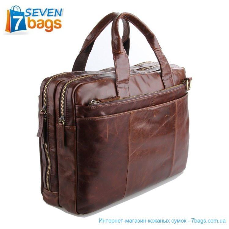 купить кожаную мужскую сумку 7092