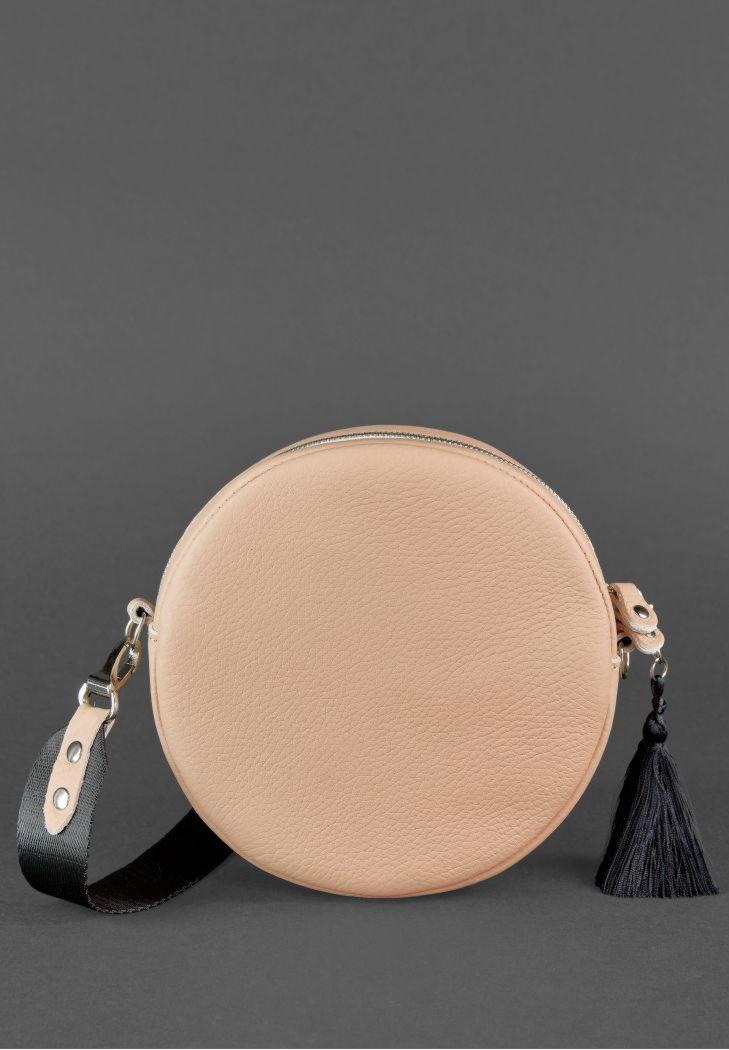 b6e67ded4112 Круглая сумочка Tablet BN-BAG-23-crem-brule BlankNote крем-брюле. Код  товара: 519-421
