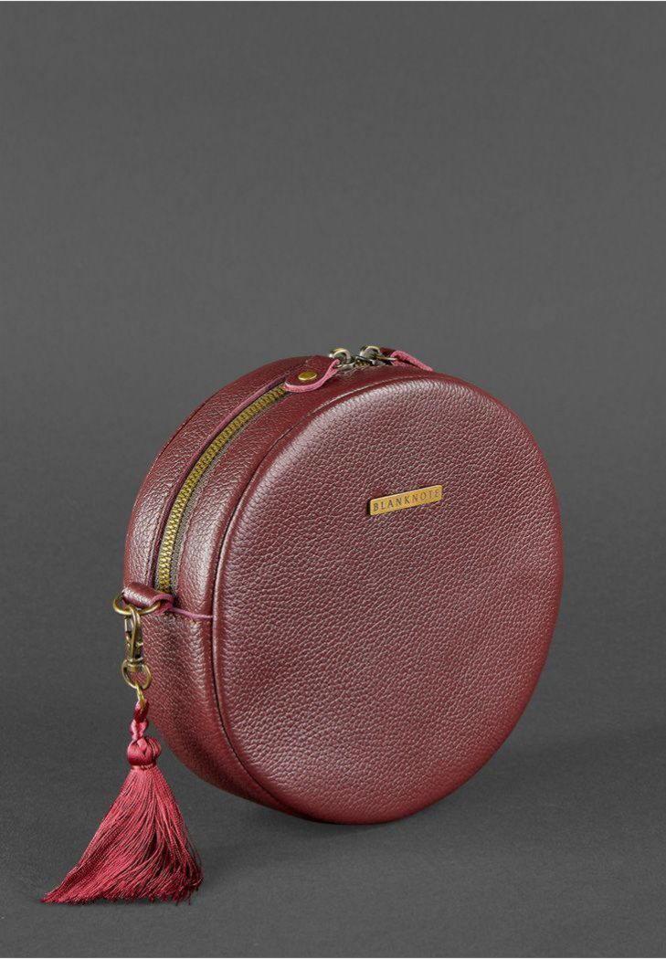 91e8a23a3d2f Круглая сумочка Tablet BN-BAG-23-marsala BlankNote марсала ✓BN-BAG ...